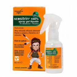 NEOSITRIN 100 % SPRAY ANTIPIOJOS GEL LIQUIDO 60