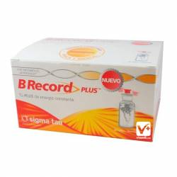 BE RECORD PLUS 10 AMPOLLAS 10 ML 2 UDS