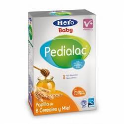 HERO PEDIALAC PAPILLA 8 CEREALES Y MIEL 600 GR