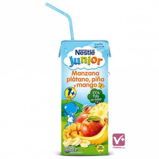 NESTLE JUNIOR MANZANA PLATANO MANGO PIÑA 200 ML