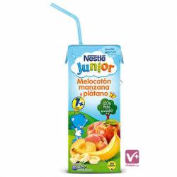NESTLE JUNIOR MELOCOTÓN MANZANA PLATANO 200 ML