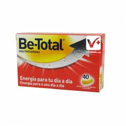 BE TOTAL MULTIVITAMINAS 40 COMPIMIDOS