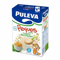 PULEVA BEBE PAPILLA DE CEREALES SIN GLUTEN 600G