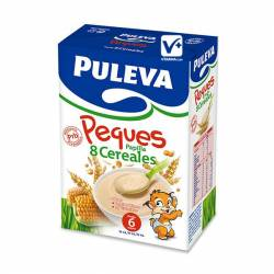 PULEVA BEBE PAPILLA 8 CEREALES 600 GR