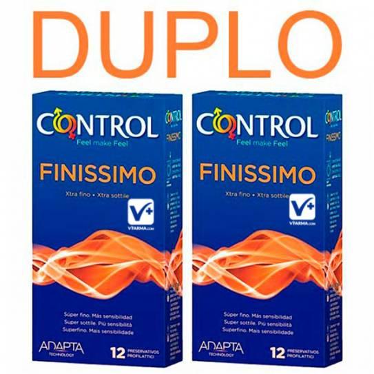 CONTROL FINISSIMO PRESERVATIVOS 12 UDS 2ª UD A M