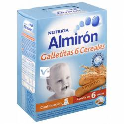 ALMIRON ADVANCE GALLETITAS 6 CEREALES