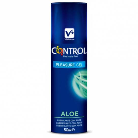 CONTROL PLEASURE GEL ALOE LUBRICANTE 50 ML