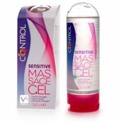 CONTROL GEL SENSUAL MASSAGE SENSITIVE LUBRICANTE