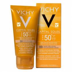 VICHY CAPITAL SOLEIL BB CREAM UNTUOSA F50 COLOR