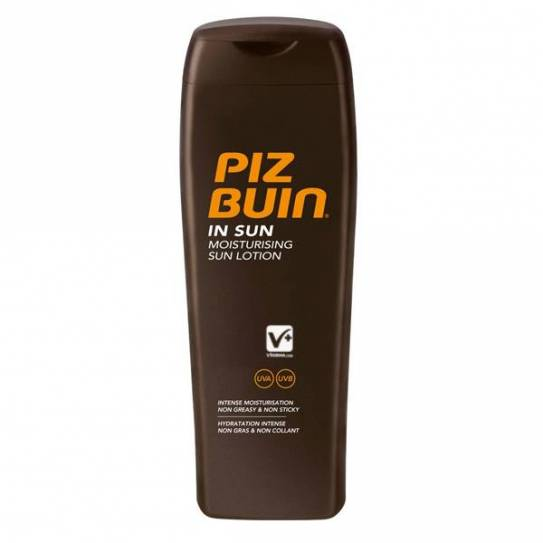 PIZ BUIN IN SUN MOISTURIZING LOCION 20 SPF 200ML