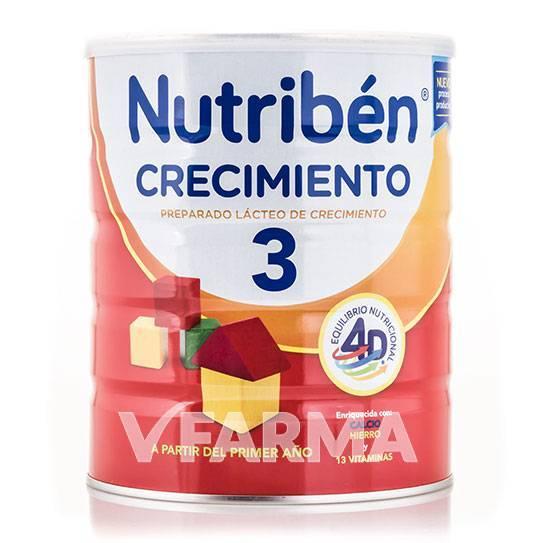 NUTRIBEN 3 LECHE CRECIMIENTO 800 GR
