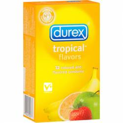 DUREX TROPICAL PLASUREFRUITS 12 UDS