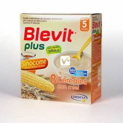 BLEVIT PLUS SINOCOME 8 CEREALES MIEL 600 GR