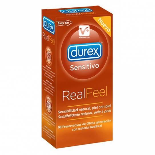 DUREX REAL FEEL PRESERVATIVOS SIN LATEX 12 UDS
