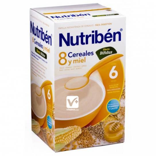 NUTRIBEN 8 CEREALES Y MIEL EFECTO BIFIDUS 600 GR
