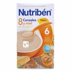 NUTRIBEN 8 CEREALES Y MIEL FIBRA 600 GR