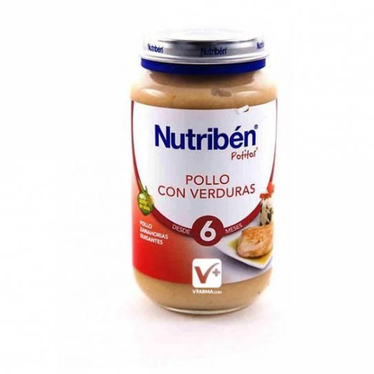NUTRIBEN POLLO VERDURAS 250 GR