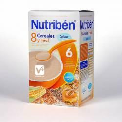 NUTRIBEN 8 CEREALES MIEL Y CALCIO 700 GR