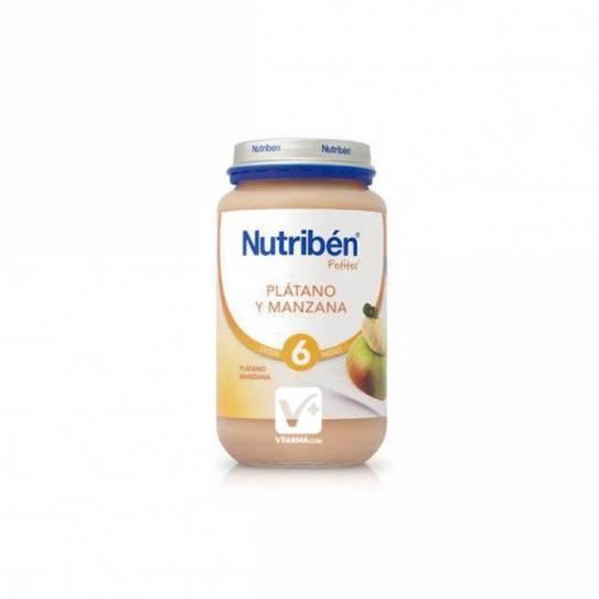 NUTRIBEN PLATANO Y MANZANA 250 GR