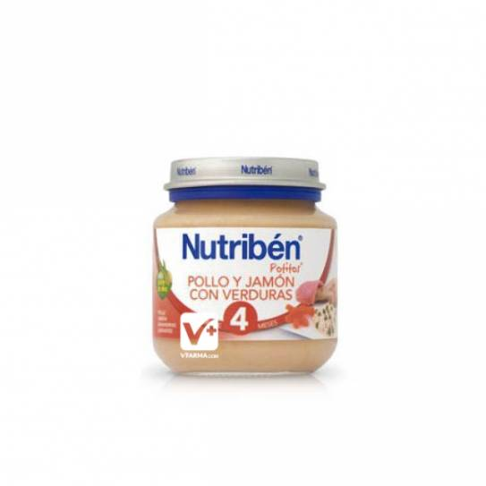 NUTRIBEN INICIO POLLO JAMON VERDURAS 130 GR