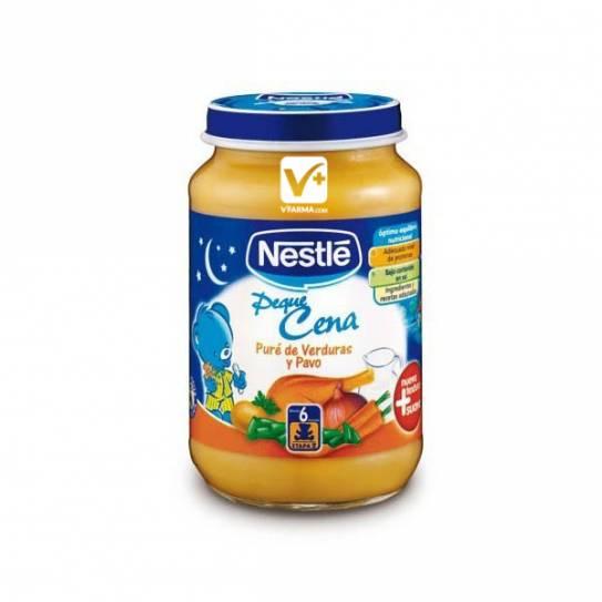 Nestle peque cena pure verduras y pavo 2x200 gr