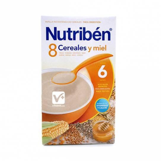 NUTRIBEN 8 CEREALES Y MIEL 700 GR