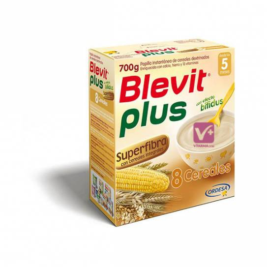 BLEVIT PLUS 8 CEREALES SUPERFIBRA 600 GR