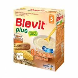 BLEVIT PLUS SUPERFIBRA 8 CEREALES MIEL 300 GR