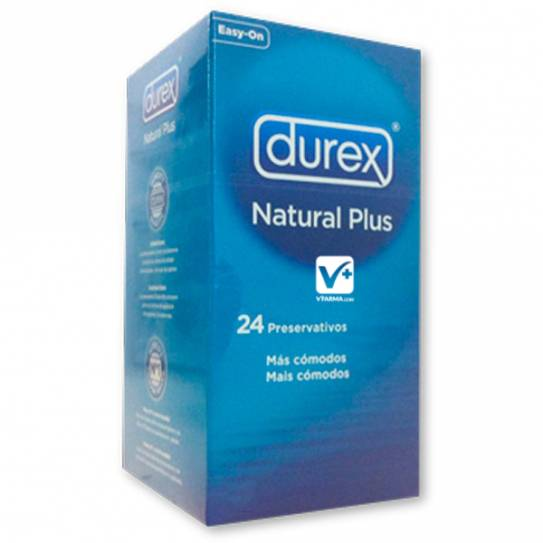 DUREX NATURAL PLUS EASY ON 24 UDS
