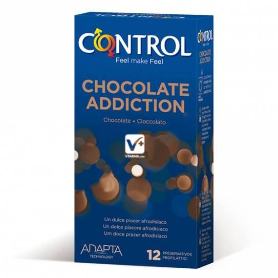 CONTROL ADAPTA CHOCOLATE ADDICTION 12 UDS