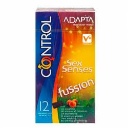 CONTROL ADAPTA SEX SENSES FUSSION 12 UDS
