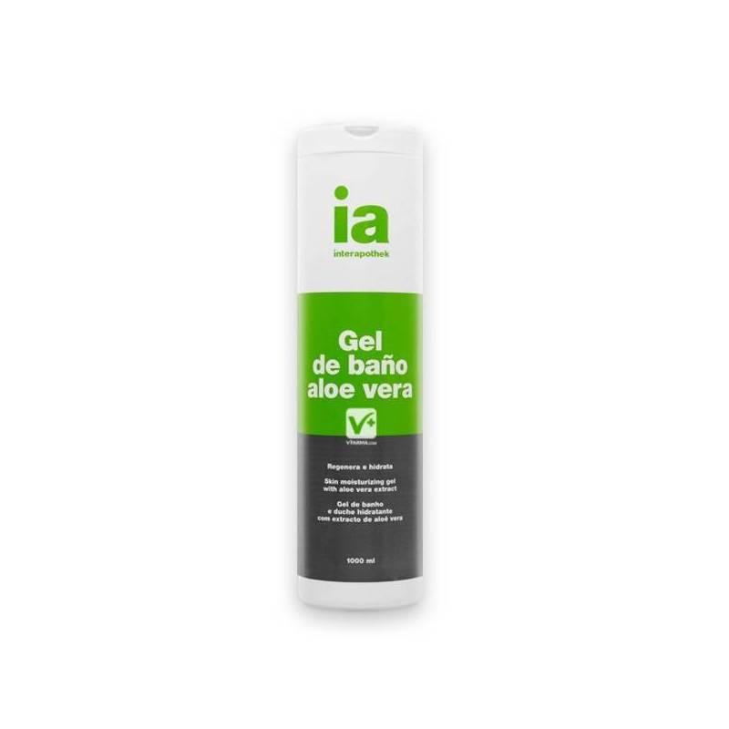 Interapothek gel de ba o aloe vera 1l - Gel de bano ...
