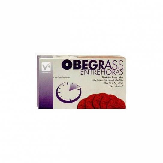 OBEGRASS ENTREHORAS GALLETA CIRUELA Y KIWI 16 GR