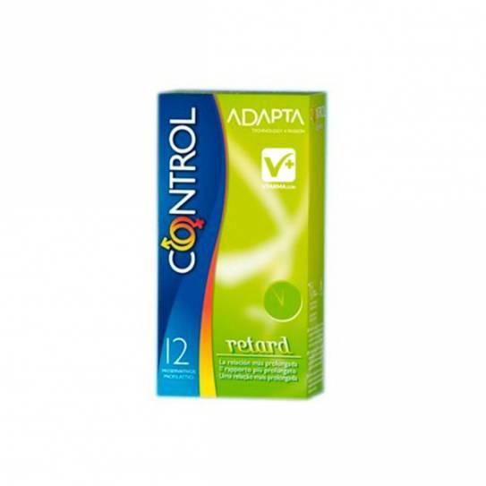 Preservativos Control Adapta retardante 12 uds