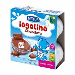 NESTLE POSTRE LACTEO CHOCOLATE 4 X 100 GR