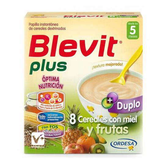BLEVIT PLUS DUPLO 8 CER MIEL FRUTAS 700 (BAJA)