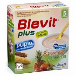 BLEVIT PLUS DUPLO 8 CEREALES FRUTAS 600 GR