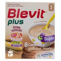 BLEVIT PLUS DUPLO 8 CEREALES GALLETAS 600 GR