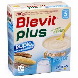 BLEVIT PLUS DUPLO 8 CEREALES YOGUR 600 GR