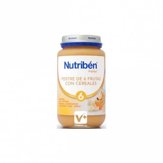 NUTRIBEN POSTRE DE FRUTAS CON CEREALES 200 GR