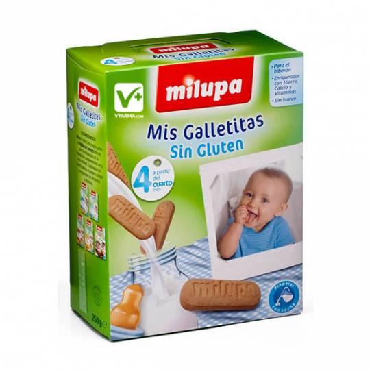 MILUPA GALLETAS SIN GLUTEN 250 G