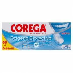 COREGA OX ACTIVO 2 TUBOS 66 TABLETAS (BAJA)