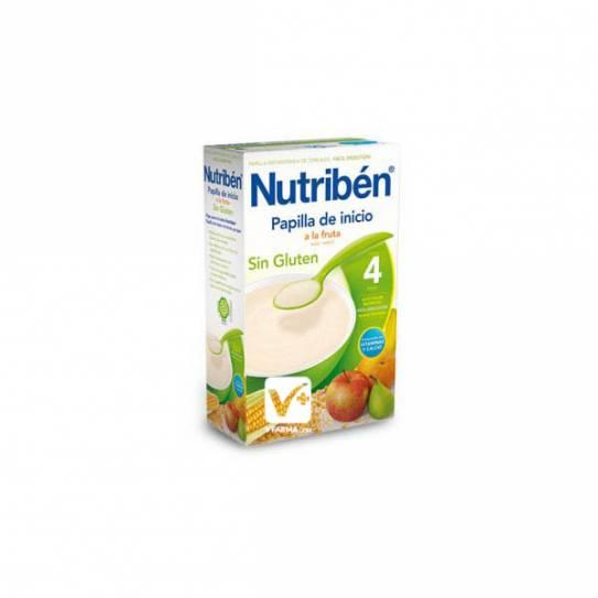 NUTRIBEN INICIO A LA FRUTA SIN GLUTEN 300 GR