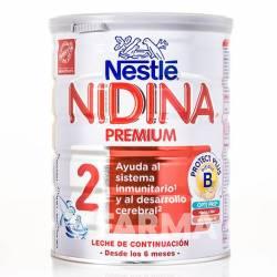Leche Nidina Premium 2 Continuación 800 GR