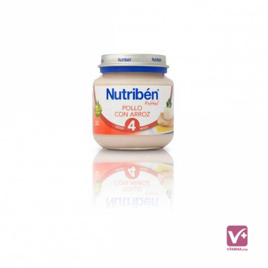 NUTRIBEN POLLO CON ARROZ 130 GR