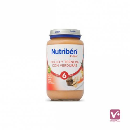 NUTRIBEN TERNERA CON VERDURAS 250 GR