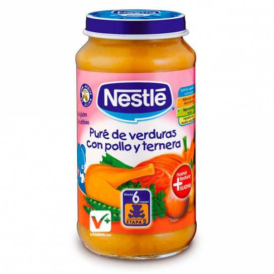 NESTLE POLLO CON PURE DE VERDURAS 250 GR