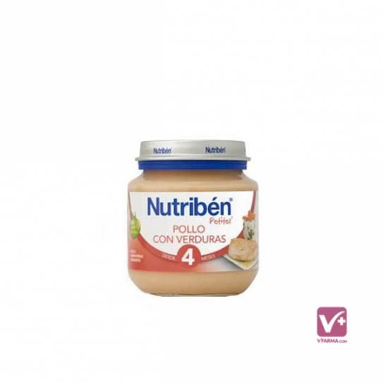 NUTRIBEN POLLO CON VERDURAS 130 GR