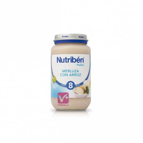 NUTRIBEN MERLUZA CON ARROZ 250 GR