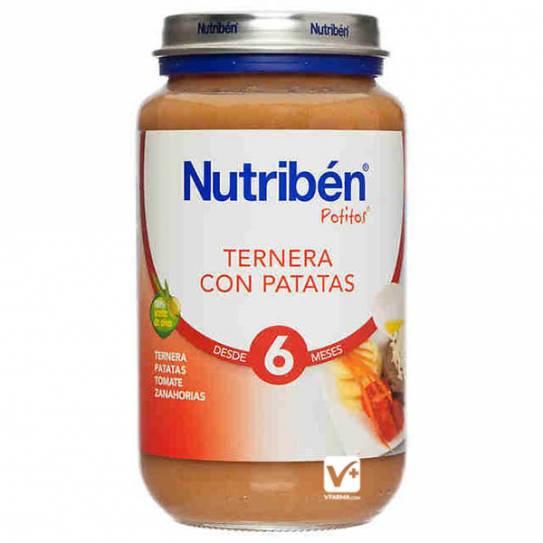 NUTRIBEN TERNERA CON PATATAS 250 GR